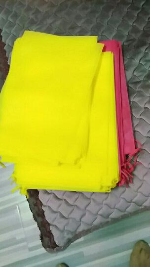 魔乐 束口袋 旅游布袋无纺布收纳袋抽绳束口袋杂物收纳袋白色(5个装) 23-35cm 白色 晒单图