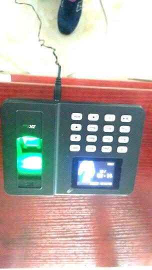 中控智慧(ZKTeco) ZK3960 智能指纹考勤机指纹式打卡机签到机器上班科技识别彩屏非网络打卡 黑色 标配+8GU盘+电子发票(纸质联系客服) 晒单图