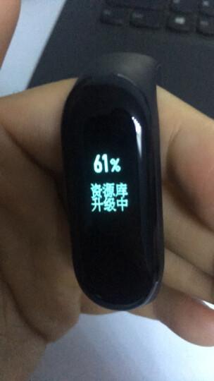 小米(MI)智能手环1代【光感心率版】小米手环 黑色腕带 LED指示灯 运动数据/心率监测 睡眠监测 晒单图