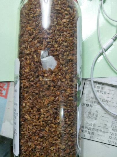 华简 茶叶 花草茶 苦荞茶 黑苦荞麦茶罐装茶叶 200g 可搭配绿茶枸杞茶 晒单图