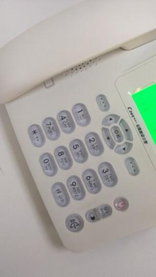 中诺C265  无线  移动 电信座机  插卡电话机 无线固话 sim卡 无线电话 插移动卡(白色) 晒单图