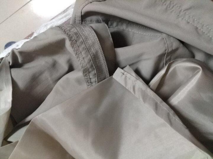狼骑户外速干裤 男女可拆卸夏季薄款透气休闲快干登山长裤 女-深灰色 XXL 晒单图