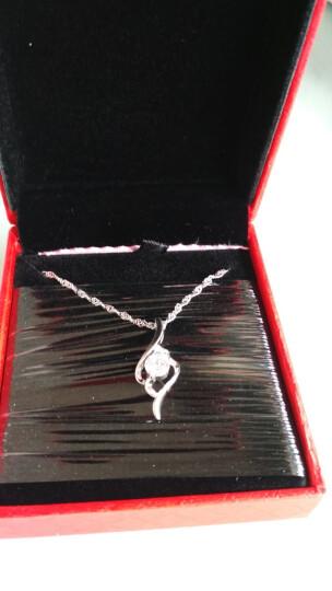 月下 甜蜜925纯银项链女 吊坠 银链子 百搭时尚银首饰品 晒单图