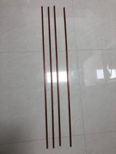 圣吉利 T2紫铜管 紫铜盘管 紫铜管 精密紫铜管 紫铜圆管 定制 外径10mm*内径8mm*长1米 晒单图