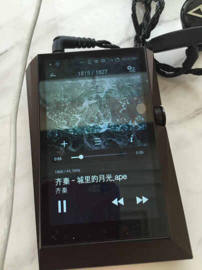 艾利和(Iriver)Astell&Kern AK380 BLACK 256G 便携HIFI播放器 无损音乐播放器 支持DSD音乐 黑色版 晒单图