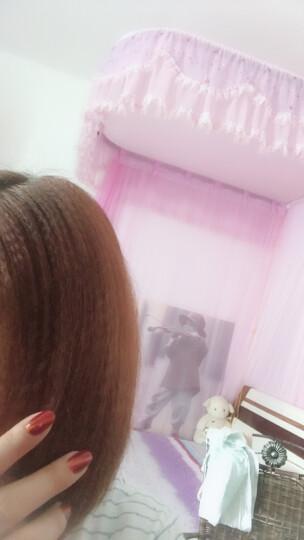 Deogra 陶瓷玉米烫夹板玉米须蓬松垫发根烫发器水波纹卷发棒不伤发 粉红色 晒单图