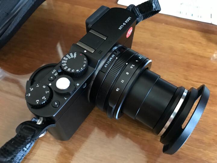 JJC松下LX100m2遮光罩二代镜头配件 徕卡D-LUX TYP 109 莱卡D-LUX 7遮光罩 晒单图