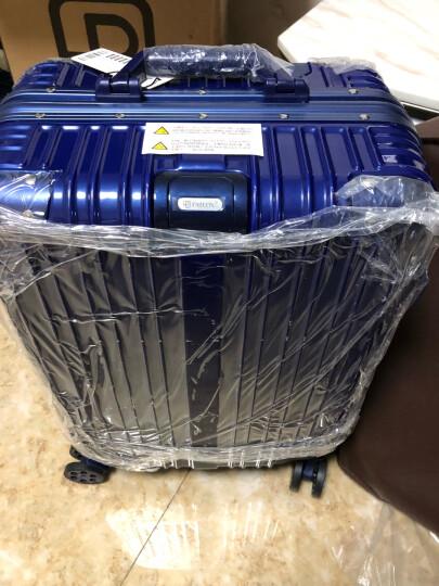 派乐仕(Paileshi)拉杆箱万向轮24寸学生行李箱商务20寸男女潮旅行密码箱登机皮箱 宝石蓝-铝框款 20寸【终身免费维修】 晒单图