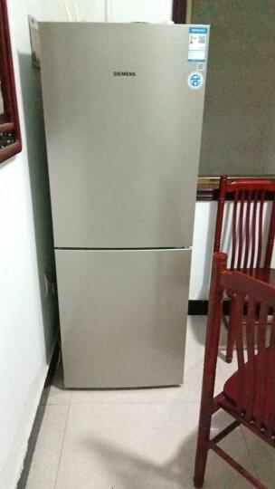 西门子(SIEMENS) 265升 双门冰箱 LED内显 电脑温控(浅金色) BCD-265(KG28EV2S0C) 晒单图