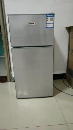 航天电器 小型冰箱小冰箱双门冰箱家用小电冰箱冷冻冷藏节能静音租房公寓宿舍 50升绿色 晒单图