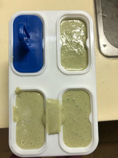 克来比 家用手摇刨冰器 碎冰机 绵绵冰机 手动家用冰粥碎冰沙机 KLB1142 蓝白色 晒单图