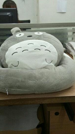 月畔湾卡通午睡枕办公室抱枕靠垫新款学生白领午休趴睡枕 珍珠棉龙猫 36*28*18cm-送眼罩+耳塞 晒单图