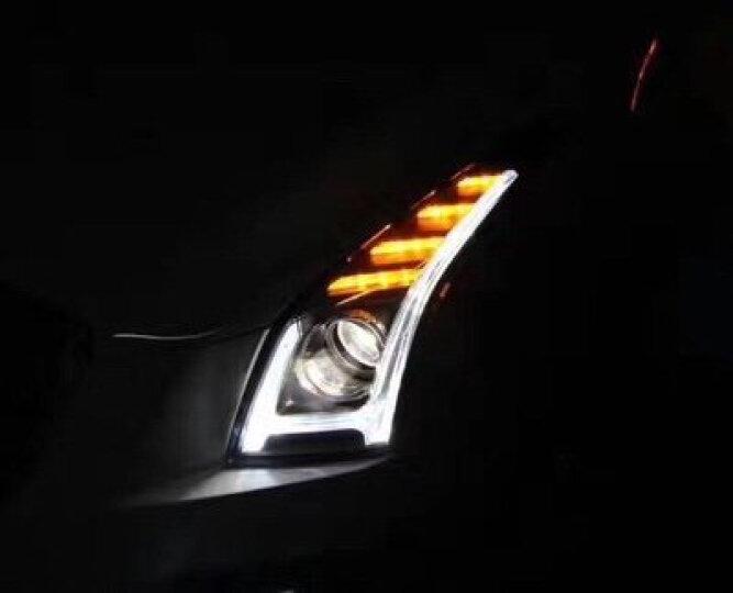 LONGDINGLIGHT凯迪拉克ATS-L大灯总成LED透镜改装一抹蓝日行灯氙气灯龙鼎 一抹蓝H版全LED大灯总成/单只 晒单图