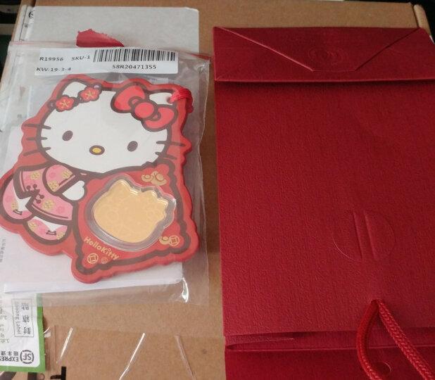 周大福 Hello Kitty凯蒂猫系列 定价足金黄金金币/金章/挂饰 R19956 288元 晒单图
