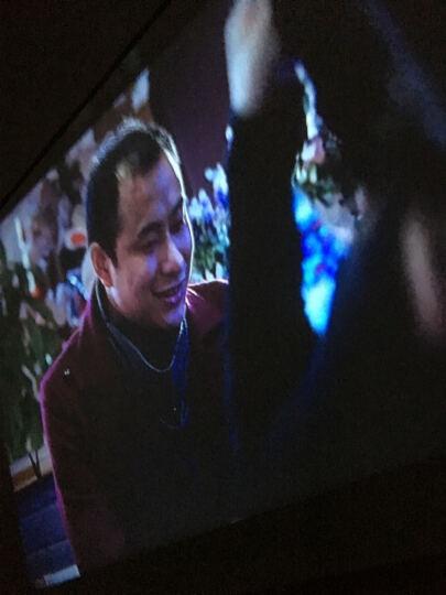 aao GM60投影机60A手机微型迷你便携式LED家庭家用娱乐投影仪机1080P高清投影 金色+1米高支架 套餐四配同屏器 晒单图
