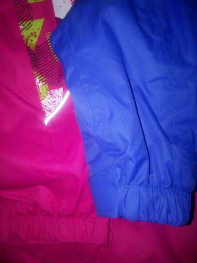 奥特山OUTSHINE儿童套装 男女品牌童装 秋冬新款运动双层三合一冲锋衣小孩衣服 湖蓝色 160 晒单图