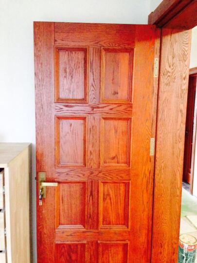乐淘淘 美国红橡实木门开放漆仿旧效果原木欧式风格室内门YM040 红橡 晒单图