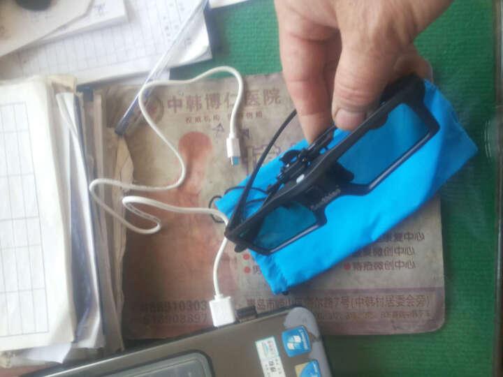 灿影(canshine) 夹片快门3D眼镜 适用爱普生投影仪 三星 夏普等3D电视 黑色 晒单图