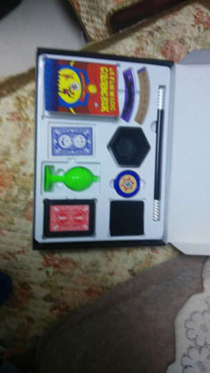 光彩年华 六一儿童节礼物益智儿童玩具小孩男孩女孩魔术道具套装 孩子礼物 智力礼品 魔术黄礼盒-高阶 晒单图