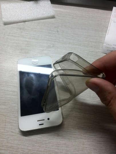 PUROCASE 透明硅胶套 TPU清透软壳手机壳 适用于苹果iphone 4S / 4 糖果色硅胶壳-薄荷绿 晒单图