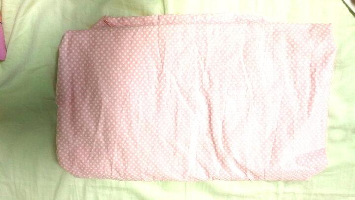 富安娜出品 圣之花 全棉床笠 纯棉斜纹双人床保护罩 繁星四月 1.5米床 晒单图