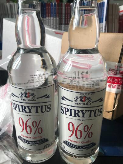 波兰原装进口生命之水96度伏特加(Spirytus)高度烈酒洋酒鸡尾酒基酒 1瓶生命之水/饮料/骷髅杯/酒嘴组合 晒单图