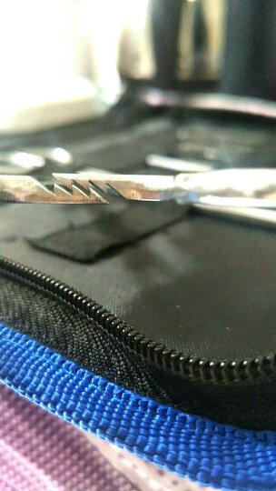 医院手术室器械不锈钢 弯直止血钳 持针器 组织钳 帕巾宫颈阑尾钳 医用实验 11件套+皮肤 晒单图