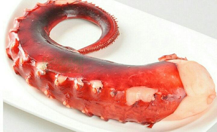 大章鱼足 大八爪鱼2斤 新鲜熟冻刺身海鲜 鱿鱼腿 晒单图