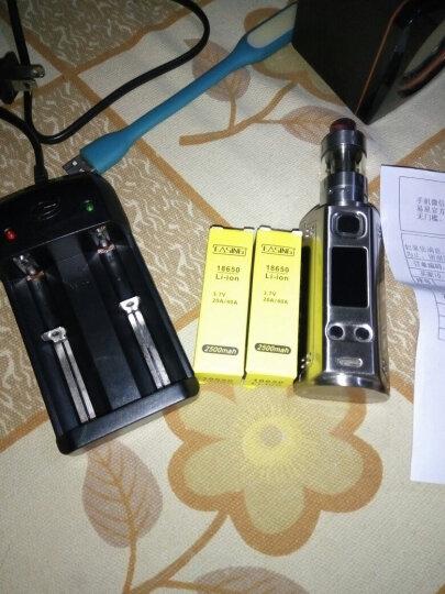 易星电子烟18650充电锂电池 2500mAh毫安40A放电强动力 单个装 晒单图