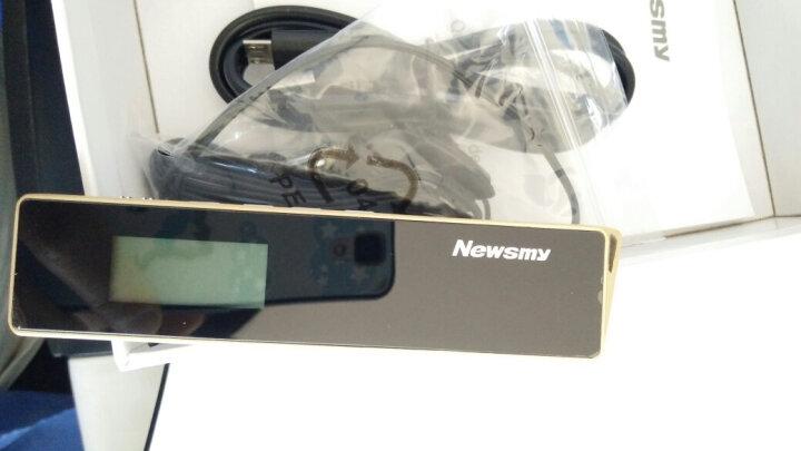 纽曼(Newsmy)录音笔 RV90 16G 专业微型高清远距降噪 PCM无损录音 学习商务会议采访执法取证 白色 晒单图