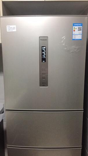 松下(Panasonic) NR-C280WP-NA家用变频风冷无霜三门家用电冰箱 NR-C280WP-NA 晒单图