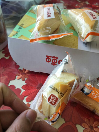 淘豆(TAODO)华夫面包牛奶味1000g手撕面包早餐 手撕棒软面包 口袋糕点休闲零食 晒单图