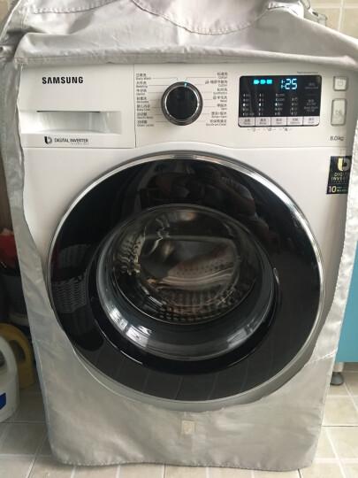 三星(SAMSUNG)8公斤全自动滚筒洗衣机 智能变频 节能静音 WW80J5230GW(XQG80-80J5230GW)(白) 晒单图