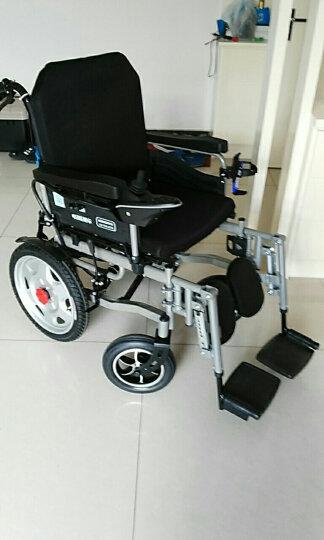 奔瑞(BENRUI) 奔瑞电动轮椅车可折叠轻便全躺老年残疾人自动智能四轮车 6005全躺前后轮减震款【12安锂电池】可躺可抬腿 晒单图