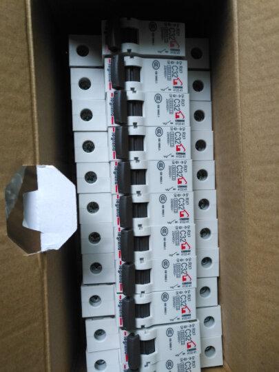 罗格朗(LEGRAND)罗格朗空气开关 1P小型家用空开开关 断路器开关10A~63A 1P-63A 晒单图