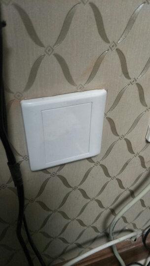 飞雕(FEIDIAO)开关插座面板 16A空调插座 大功率三孔电源热水器插座 86型A3嘉润白 晒单图