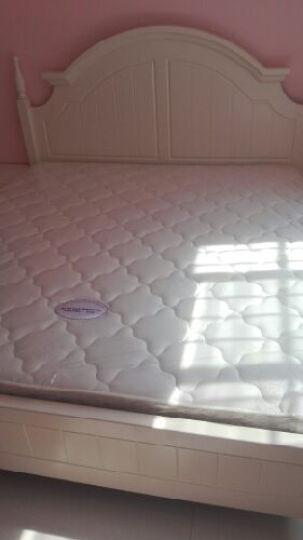 双虎(SUNHOO) 床1.8米双人床韩式田园板式床卧室家具套装13M2 1.8米双人床+床头柜*2+舒梦床垫+13M2衣柜 晒单图