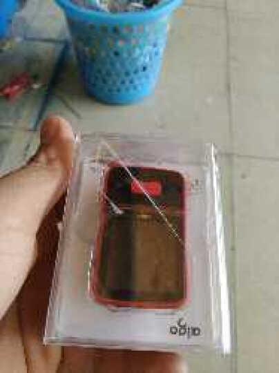 月光宝盒 爱国者蓝牙mp3播放器便携式计步器 hifi无损音乐插卡mp4运动背夹式录音器 mp3-107  绿色8g 晒单图