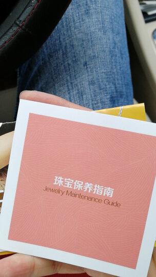 周大福(CHOW TAI FOOK)小心意系列Y时代18K金钻石吊坠 项链 U153271 3500 40cm 晒单图
