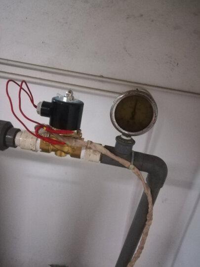 Sinnaider 纯铜电磁阀 水油蒸汽控制阀门 常闭12V/24V/220V DN20  6分管 (2W200-20) 220v 晒单图