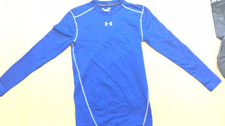 安德玛(UNDERARMOUR) UA男子Armour 保暖紧身衣健身服-1265650 白色100 XL 晒单图
