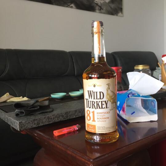威凤凰81经典波本威士忌 洋酒烈酒WILD TURKEY KENTUCKY BOURBON 晒单图