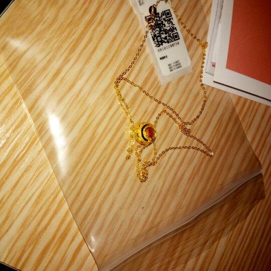 周大福(CHOW TAI FOOK)路路通转运珠足金黄金吊坠 F155440 48 约1.2克 晒单图