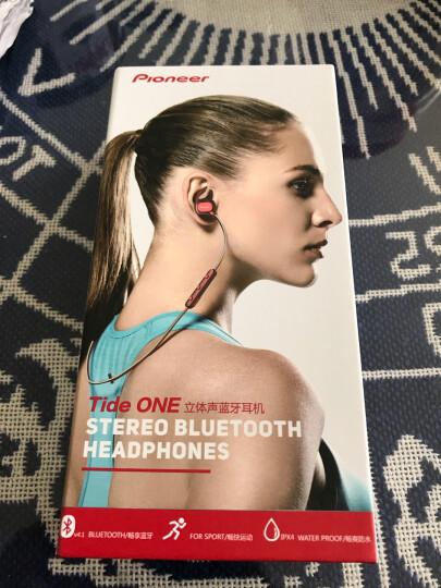先锋(Pioneer)E521BT 苹果华为小米`入耳式无线蓝牙运动耳机 反光线 黑 晒单图