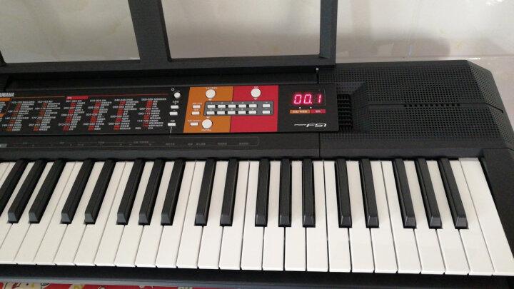 雅马哈(YAMAHA) PSR- F51 儿童成人初学入门娱乐电子琴61键 晒单图
