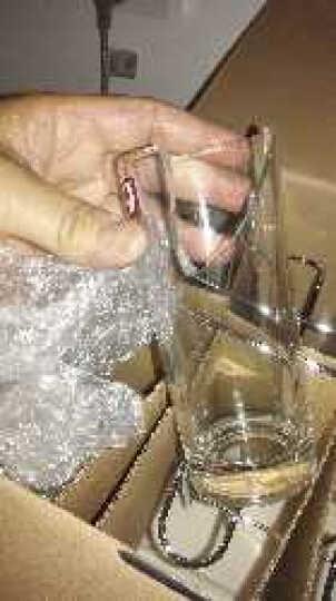 青苹果玻璃水杯茶杯套装家用9件套杯子*8+沥水架*1 60138/L9DS 晒单图