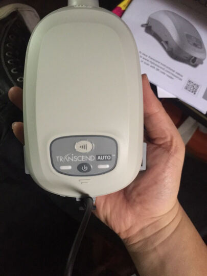 吉康传奇 进口呼吸机打呼噜家用商旅单水平睡眠便携式智能全自动清洁打鼾止鼾器 AUTO全自动+血压计+礼包 晒单图