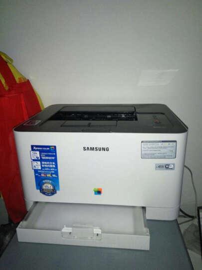 三星SL-C430W彩色激光打印机 无线WIFI NFC手机平板打印替410W 套餐三 晒单图