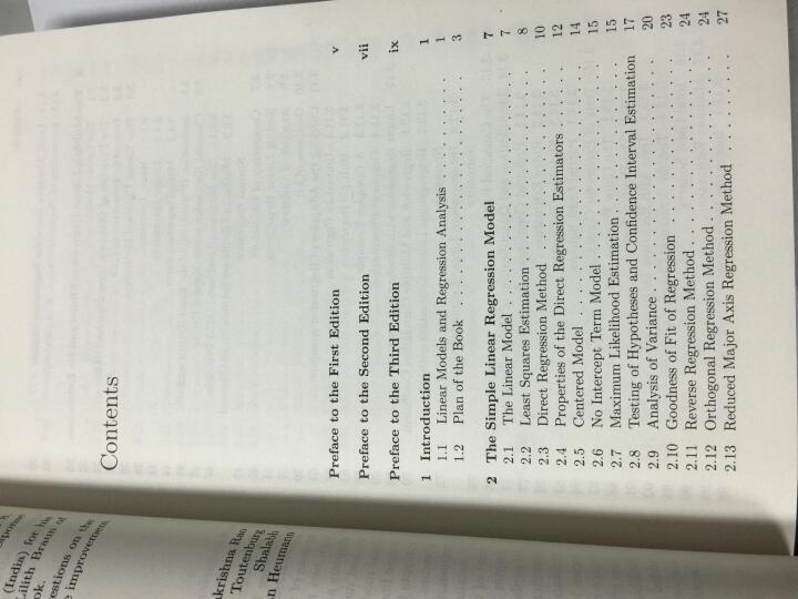 线性模型和广义线性模型(第3版) 晒单图