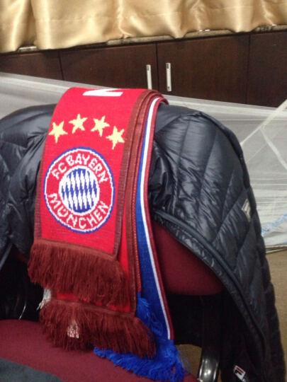 阿迪达斯 Adidas 男款围巾 冬季运动围脖 足球球迷围巾 拜仁AA0759 晒单图